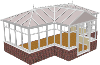 Bespoke Conservatories  available from the conservatory experts in your local area of Yorkshire. Walkers Windows