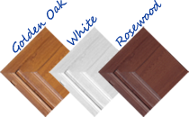 Frame colours for Doors from Door Companies like Walkers