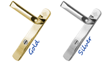 Window and Door furniture to match colours with your coordinatiing windows and doors